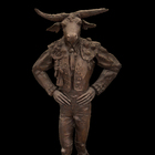 Bull Figther - Bronze - CM. 70 x 45 x 180 H.